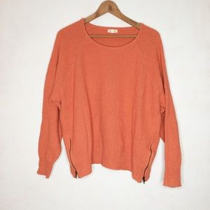 Urban Outfitters Large Baggy Coral Knit Sweater